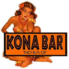 kona bar hula girl